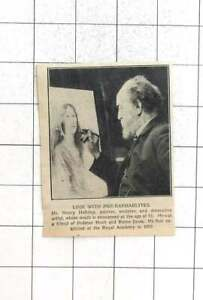 1927 Henry Holiday Painter, Sculptor Friend Holman Hunt