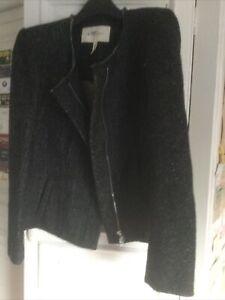 Etoile Isabel Marant Tweed Biker Style Jacket Size3