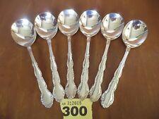 Vintage Oneida FLIRTATION Cutlery - 6 x 17.25 cm Soup Spoons