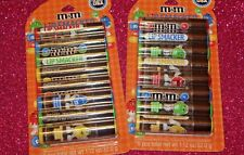 2 PCS-M&M's Lip Smacker Chocolate 8 Piece Lip Balm Pack. Milk Chocolate Flavor.