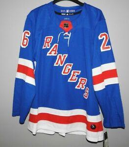 Authentic Adidas NHL New York Rangers #26 Hockey Jersey New Mens Sizes $190
