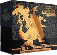 Pokemon TCG Champion's Path Elite Trainer Box Sealed 10 Booster Packs FAST SHIP!