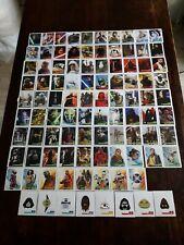 Lot de 96 stickers Star Wars l'Ascension de Skywalker - Complet - Leclerc 2019