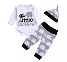 Newborn Infant Baby Boy Kids Romper Jumpsuit Bodysuit Clothes Outfit