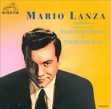 Sings Songs from The Student Prince & The Desert Song by Mario Lanza (Actor/Singer) (CD, Aug-1989, RCA Victor)
