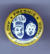 Vintage pin Freshie and the Southern BAKER pin BAKERY Baking CHEF Hat pinback