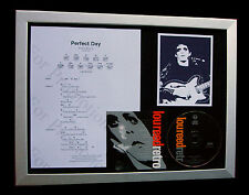 LOU REED Perfect Day LTD CD GALLERY QUALITY FRAMED DISPLAY+EXPRESS GLOBAL SHIP