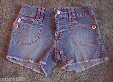 Girls Bongo Pink Stitching Jean Shorts Size 7