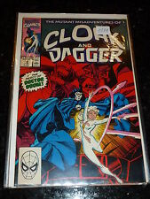 THE MUTANT MISADVENTURES OF CLOAK & DAGGER Comic - Vol 1 - No 12 - Date 06/1990
