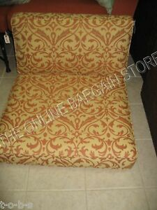 Frontgate SOHO sectional Outdoor Sofa Cushions SOFTLY ELEGANT tuscan chair 25x29