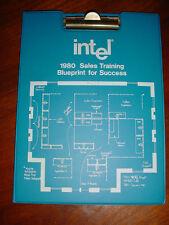"""Intel Vintage 8086 8085 IC 1980 Sales Training  Handout """"Blueprint for Success"""""""