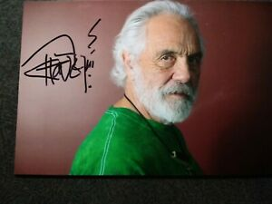 TOMMY CHONG Authentic Hand Signed Autograph 4X6 Photo STILL SMOKIN & UP IN SMOKE