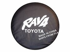 "China Spare Wheel Tire Tyre Cover 28"" For Toyota 97-17 RAV4 SUV ships from FLA"