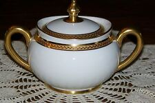 Vignaud Limoges - The Nantes - Covered Sugar Bowl (Exceptional condition)