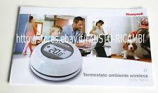 HONEYWELL TERMOSTATO AMBIENTE WIRELESS ART. Y87RFC WIFI GESTIONE PC SMARTPHONE