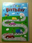 It's Your Birthday Cars - With Envelope - Occasion / Celebration Cards - New