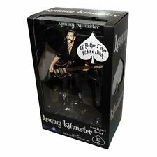 """Motorhead Lemmy Kilmister 6"""" Action Figure w/ Bass, Strap, Mic and Stand"""