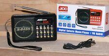 H089UR FUNBOX Multimedia player MP3 USB SD AUX IN FM Radiospieler 50W LCD Schwaz