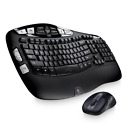 NEW Logitech MK550 Wave Wireless Keyboard K350 and Mouse M510 Combo Black 2.4GhZ