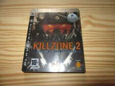 JEU VF PS3 KILLZONE 2 edition collector steelbook COMPLET  CD bien brillant