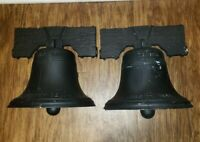 2 Hanover Lantern Liberty Bell Metal Wall Lamp Sconce Underwriters Laboratories