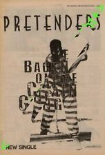 Pretenders The Back On The Chain Gang Advert NME Cutting 1982