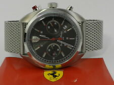 Sportiva Stainless Steel Mesh Watch Ferrari Scuderia Men's Chronograph Formula