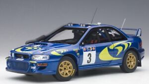 Subaru Impreza WRC No.3 Winner Rally Safari 1997 ( C. Mcrae - N. Grist ) 1:18
