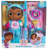 Just Play Disney Doc Mcstuffins Get Better Baby Cece Blue Doll Age 3+ Toy Doctor