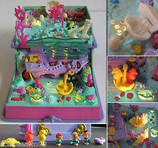 Polly Pocket Sparkling Mermaid Adventure Light up 7 Figuren Enchanted TOP *