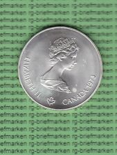 Kanada 1973 - Elizabeth II , 5 Dollar  XXI Olympiade Montreal 1976 (M2033)