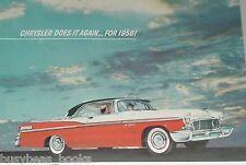 1956 Chrysler ad, Chrysler New Yorker Coupe