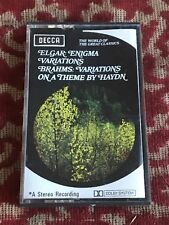 elgar : enigma variations - brahms variations on a theme by haydn.  cassette