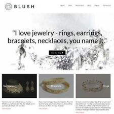 "JEWELLERY Website Business Make £1,442.24 A Sale ""9500 Visitors A Month"""
