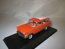 """Minichamps  Opel  Record  P1  Caravan  """"1958-60""""  (orange-rot)  1:43  in OVP !"""