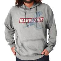 Marvelous Funny Sports Athletic Comic Book Hooded Sweatshirts Hoodies For Men