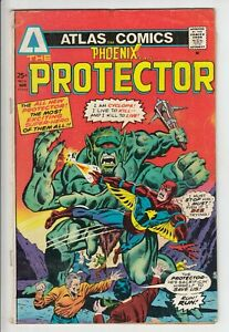 Phoenix #4 Atlas Comics THE PROTECTOR 1975