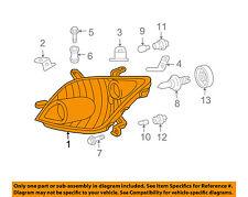 Scion TOYOTA OEM 2006 xA-Headlight Head Light Headlamp 8117052641