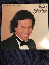JULIO IGLESIAS -1100 Bel Air Place - LP 1984 VG+  pop vinyl record album