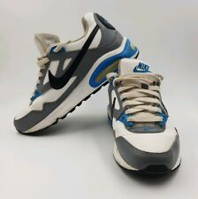 new product c674e 187dc Nike Air Max Skyline GS Trainers   White   Blue   Grey   UK 5 EU