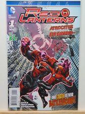 Red Lanterns Annual #1 D.C. Universe Comics  CB5073