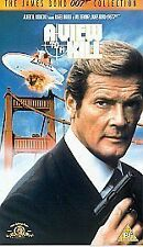 James Bond A View To A Kill VHS Roger Moore
