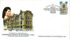 Chile 1998 FDC 70 años Universidad Catolica de Valparaiso