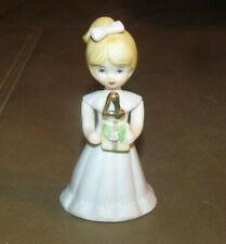 Enesco Growing Up Birthday Girls Figurine Age 4 Blonde