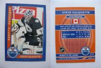 2015 SCA Steve Valiquette Edmonton Oilers goalie never issued produced #d/10