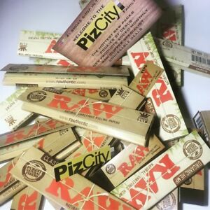 *30 ITEMS FOR £12.95* x20 Official RAW Kingsize Papers + x10 RAW Tips Booklets