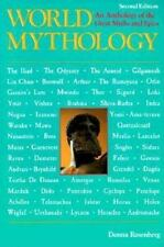 World Mythology by Donna Rosenberg (1994, Trade Paperback, Revised edition)