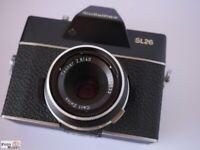 Rollei SL 26 Rolleiflex Objektiv Carl Zeiss Tessar 2,8/40 (Filmtyp 126) Sammler