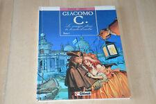 BD GIACOMO C. tome 1 : le masque dans la bouche d'ombre - EO 1988