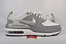 NEW Nike Air Max Wright 3 WHITE WOLF COOL GREY BLACK 687974-110 sz 9